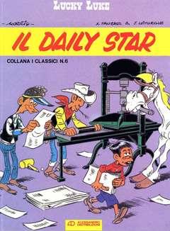 Copertina LUCKY LUKE n.3 - IL DAILY STAR, ALESSANDRO EDITORE