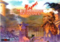 Copertina MAGNUS n.7 - LE  FEMMINE INCANTATE, ALESSANDRO EDITORE