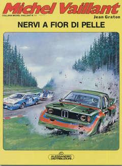 Copertina MICHEL VAILLANT 1 SERIE n.10 - NERVI A FIOR DI PELLE, ALESSANDRO EDITORE
