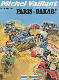 Copertina MICHEL VAILLANT 1 SERIE n.12 - PARIS-DAKAR, ALESSANDRO EDITORE