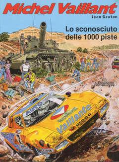Copertina MICHEL VAILLANT 1 SERIE n.4 - LO SCONOSCIUTO DELLE MILLE PISTE, ALESSANDRO EDITORE