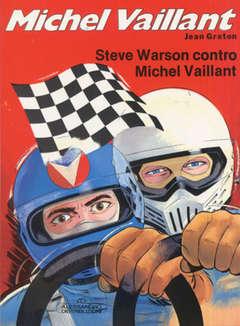 Copertina MICHEL VAILLANT 1 SERIE n.5 - STEVE WARSON CONTRO MICHEL VAILLANT, ALESSANDRO EDITORE