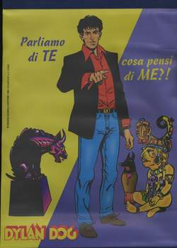 ALESSANDRO EDITORE - MINI POSTER DYLAN DOG