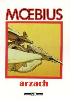 Copertina MOEBIUS ANTOLOGIA n.7 - ARZACH, ALESSANDRO EDITORE