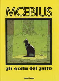 Copertina MOEBIUS ANTOLOGIA n.8 - GLI OCCHI DEL GATTO, ALESSANDRO EDITORE