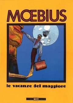 Copertina MOEBIUS ANTOLOGIA n.6 - LE VACANZE DEL MAGGIORE, ALESSANDRO EDITORE