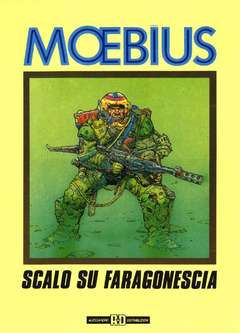 Copertina MOEBIUS ANTOLOGIA n.2 - SCALO SU FARAGONESCIA, ALESSANDRO EDITORE