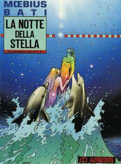 Copertina MOEBIUS n.1 - LA NOTTE DELLA STELLA, ALESSANDRO EDITORE