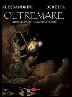 Copertina OLTREMARE n.2 - LA GUERRA DI KHOR, ALESSANDRO EDITORE