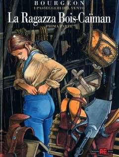 Copertina PASSEGGERI DEL VENTO n.6 - RAGAZZA BOIS CAIMAN, ALESSANDRO EDITORE