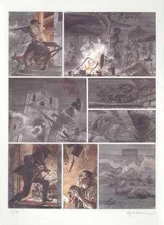 Copertina POSTER HERMANN n.4 - CAATINGA, ALESSANDRO EDITORE