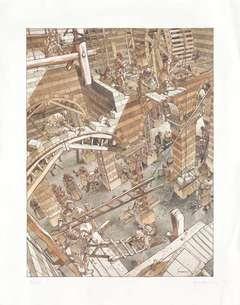 Copertina POSTER HERMANN n.1 - LE TORRI DI BOIS MAURIS, ALESSANDRO EDITORE