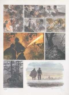 Copertina POSTER HERMANN n.9 - WAR MOON 54, ALESSANDRO EDITORE