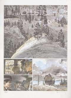 Copertina POSTER HERMANN n.6 - WILD BILL 13, ALESSANDRO EDITORE