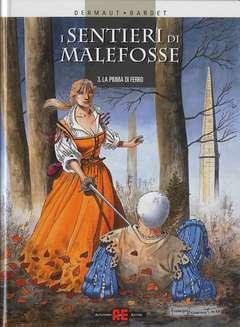 Copertina SENTIERI DI MALEFOSSE n.3 - PIUMA DI FERRO, ALESSANDRO EDITORE
