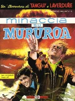 Copertina TANGUY E LAVERDURE n.2 - MINACCIA SU MURUROA, ALESSANDRO EDITORE