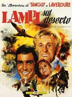 Copertina TANGUY E LAVERDURE n.4 - LAMPI SUL DESERTO, ALESSANDRO EDITORE