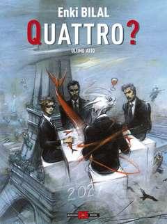 Copertina TETRALOGIA DEL MOSTRO n.4 - QUATTRO?, ALESSANDRO EDITORE