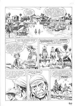 ALESSANDRO EDITORE - TEX SEMINOLES TAVOLE ORIGINALI