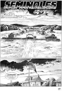 Copertina TEX SEMINOLES TAVOLE ORIGINALI n.17 - TEX SEMINOLES TAVOLE ORIG   17, ALESSANDRO EDITORE