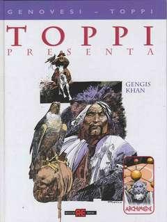 Copertina TOPPI n.3 - ARCHIMEDE GENGIS KHAN, ALESSANDRO EDITORE