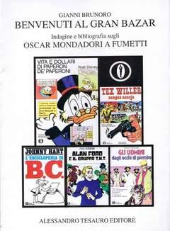 Copertina ARCHIVIO COMICS n.12 - BENVENUTI AL GRAN BAZAR, ALESSANDRO TESAURO