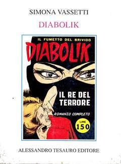 Copertina ARCHIVIO COMICS n.4 - DIABOLIK, ALESSANDRO TESAURO