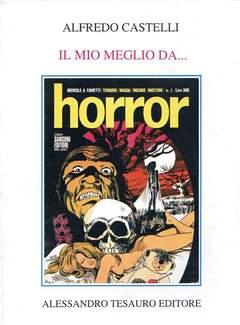 """Copertina ARCHIVIO COMICS n.5 - IL MIO MEGLIO DA """"HORROR"""", ALESSANDRO TESAURO"""