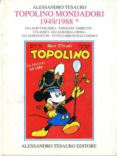Copertina ARCHIVIO COMICS n.3 - TOPOLINO MOND.1949/88, ALESSANDRO TESAURO