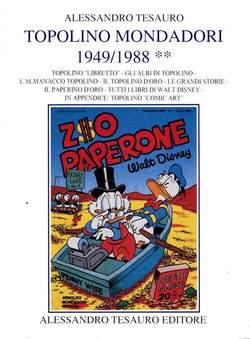 Copertina ARCHIVIO COMICS n.9 - TOPOLINO MONDADORI 1949/1988, ALESSANDRO TESAURO