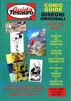 Copertina COMIC GUIDE n.3 - 2011 - DISEGNI ORIGINALI, ALESSANDRO TESAURO
