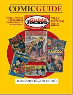 Copertina COMIC GUIDE n.5 - 2012-2013, ALESSANDRO TESAURO