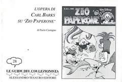 Copertina GUIDE DEL COLLEZIONISTA n.28 - L'OPERA DI C.BARKS SU ZIO PAPERONE, ALESSANDRO TESAURO