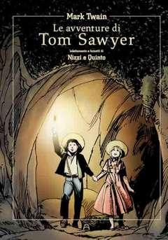 Copertina AVVENTURE DI TOM SAWYER n. - LE AVVENTURE DI TOM SAWYER, ALLAGALLA EDITORE