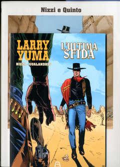 Copertina LARRY YUMA #10 GUALANDRIS ED. n. - ALL'OMBRA DEL CAPESTRO, ALLAGALLA EDITORE