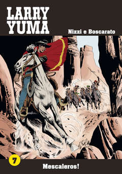 Copertina LARRY YUMA (m10) n.7 - MESCALEROS!, ALLAGALLA EDITORE
