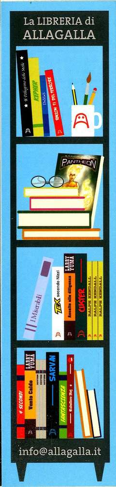 Copertina SEGNALIBRI ALLAGALLA OMAGGIO n.2 - LA LIBRERIA DI ALLAGALLA, ALLAGALLA EDITORE