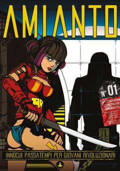 Copertina AMIANTO n.1 - AMIANTO, AMIANTO COMICS