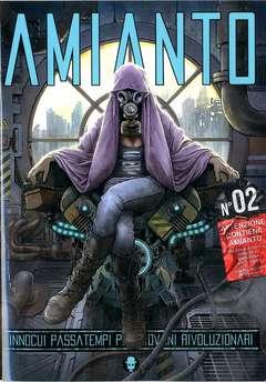 Copertina AMIANTO n.2 - AMIANTO  2, AMIANTO COMICS