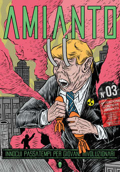 Copertina AMIANTO n.3 - AMIANTO 3, AMIANTO COMICS