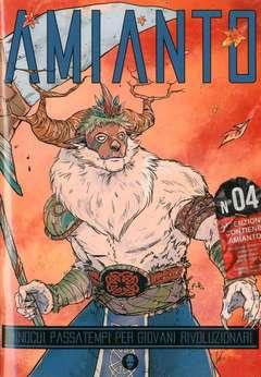 Copertina AMIANTO n.4 - AMIANTO 4, AMIANTO COMICS