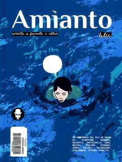 Copertina AMIANTO BLU n. - AMIANTO BLU, AMIANTO COMICS