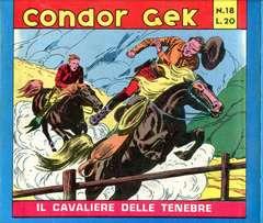 Copertina CONDOR GEK ANASTATICA n.1 - CONDOR GEK 1/18 I SERIE ANASTATICA, ANAF/ANAFI