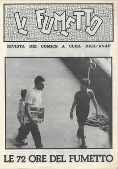 Copertina FUMETTO ANAF SUPPLEMENTI n.4 - SUPP. AL 19 1975 72 ORE DEL FUMETTO, ANAF/ANAFI