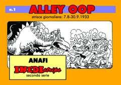 Copertina INEDISTRIPS COLLANA II Serie n.LOTTO - Alley Oop - Connie - Twin Earths, ANAF/ANAFI
