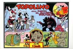 Copertina TOPOLINO ANAF n.17 - Topolino - Alla caccia del bandito Pipistrello - E l'elefante, ANAF/ANAFI