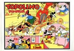 Copertina TOPOLINO ANAF n.9 - Topolino Pompiere - La pensione di Clarabella, ANAF/ANAFI