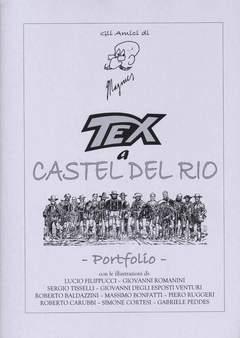 Copertina PORTFOLIO TEX A CASTEL DEL RIO n. - TEX A CASTEL DEL RIO - (Tiratura 100 copie), ANGELINI EDITORE