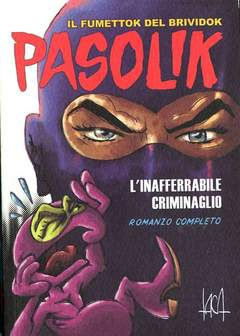 Copertina PASOLIK n.1 - L'INAFFERRABILE CRIMINAGLIO, ANNEXIA