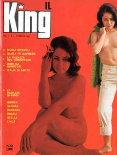 Copertina KING RIVISTA 1967 n.1 - KING RIVISTA 1967            1, ANTHILLIS SRL EDITRICE